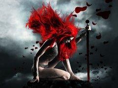 Kırmızı gül savaşçısı