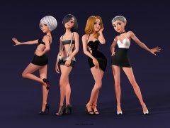 3d Kızlar