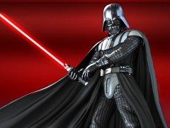 Darth Vader Kırmızı Arkaplan