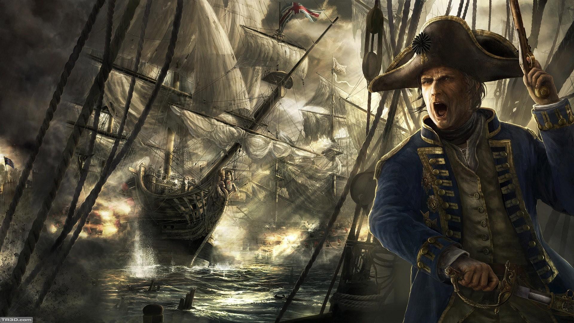 Battle on the sea
